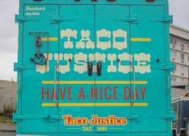 Taco Justice Food Truck Wrap