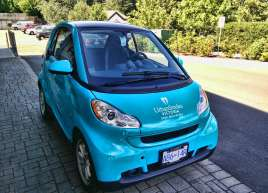 Urban Smiles Smart Car Wrap