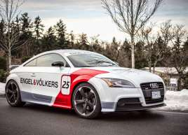 Cut Vinyl Graphics for Engel & Volkers new Audi TT