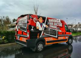 Full Wrap for Garage Door Doctor on Dodge Promaster