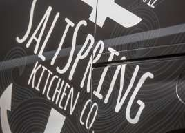 Salt Spring Kitchen Van Wrap