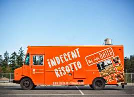 Indecent Risotto Full Food Truck Wrap