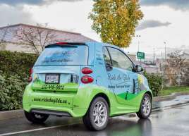 Full Smart Car Wrap for Ride the Glide
