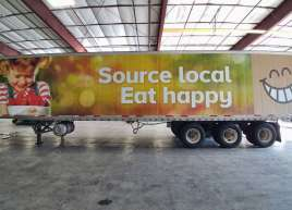Full Semi Trailer Wrap for Thrifty Foods