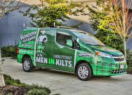 Full Van Wrap for Men In Kilts