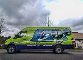 Full Sprinter Wrap for Oar Board SUP
