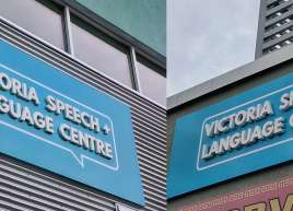 3D Signage for Victoria Speech & Language Centre