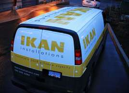 IKAN Chevy Van Wrap