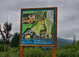 Westhills Large Outdoor Sign