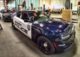 New Saanich Police Car Graphics