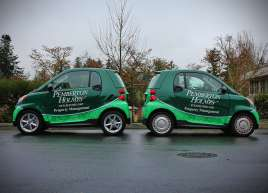 Full Smart Car wraps for Pemberton Holmes