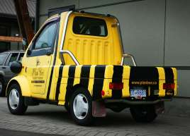 Plan Bee Mini Truck Wrap