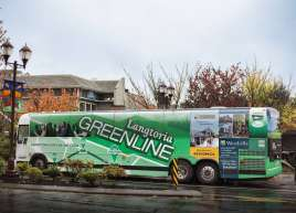 Full Bus Wrap for the Langtoria Greenline