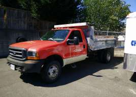 Red Door Landscape Truck Wrap