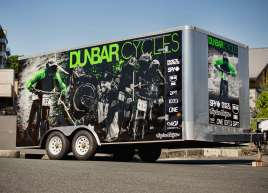 Full Trailer Wrap for Dunbar Cycles