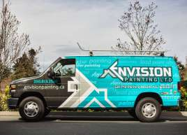 Full Van Wrap for Envision Painting
