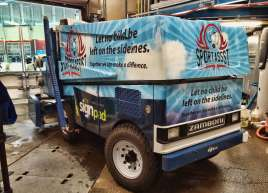 Zamboni Wrap done for City Centre Park